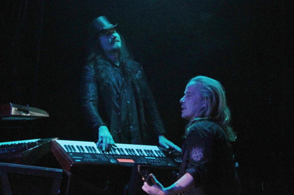 Nightwish Keyboardist Tuomas Holopainen and Guitarist Emppu Vuorinen