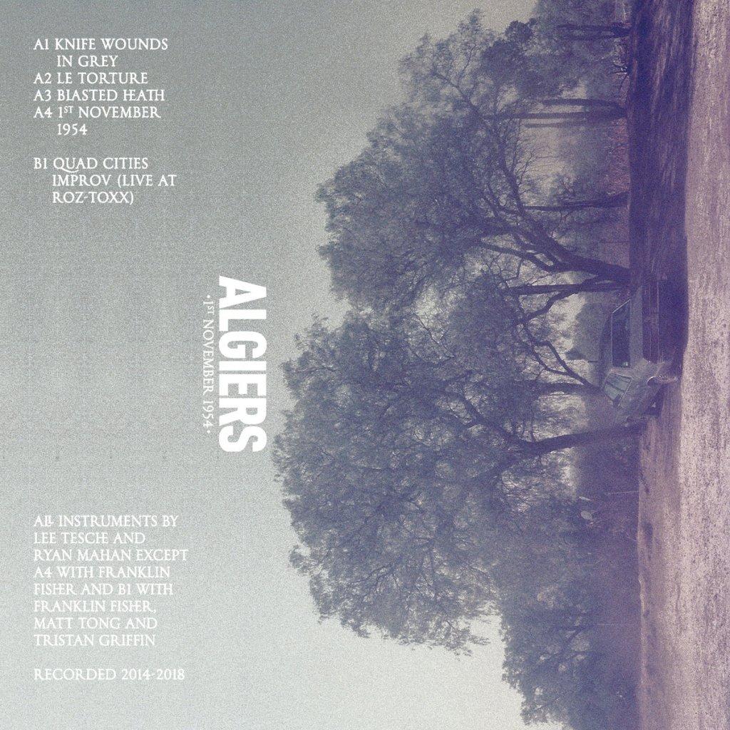 Algiers - 1st November 1954