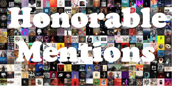 2018: Honorable Mentions