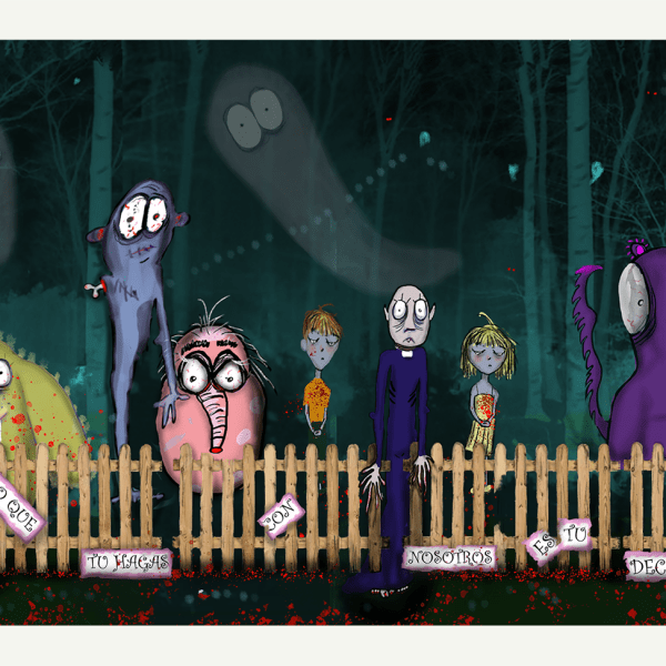 Halloween MOoONster party
