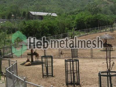 zoo enclosures for deer exhibit, deer protection netting, deer barrier netting for sale