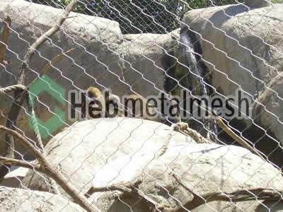 stainless steel mesh for monkey protection netting, monkey barrier mesh