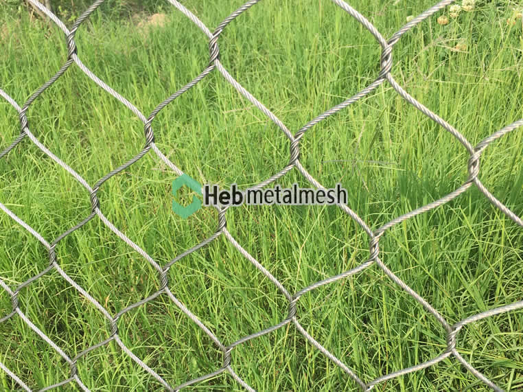 Wire cable mesh, wire cable mesh for monkey fence manufacturer, wire ...