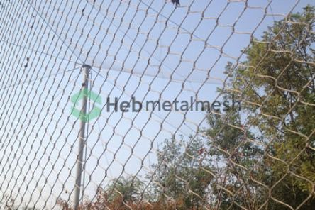 Hand woven stainless steel netting,wire rope mesh, wire