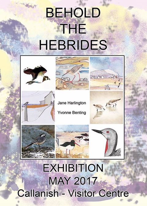 Hebridean Imaging Yvonne Benting art photography western isles outer hebrides uist callanish exhibition Jane Harlington Blue Pig Studio
