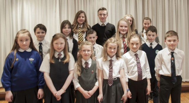 SHINING STARS: Some of the prizewinners in this year's literature categories. Pic courtesy of An Comunn Gàidhealach