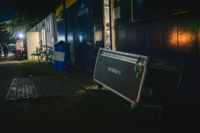 Image of Waterboys music equipment