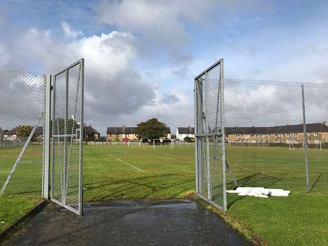 Stornoway Primary playing field