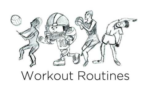 Work Hard, Play Hard: Athletics workout routines