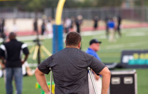 Injury ends lineman's season early