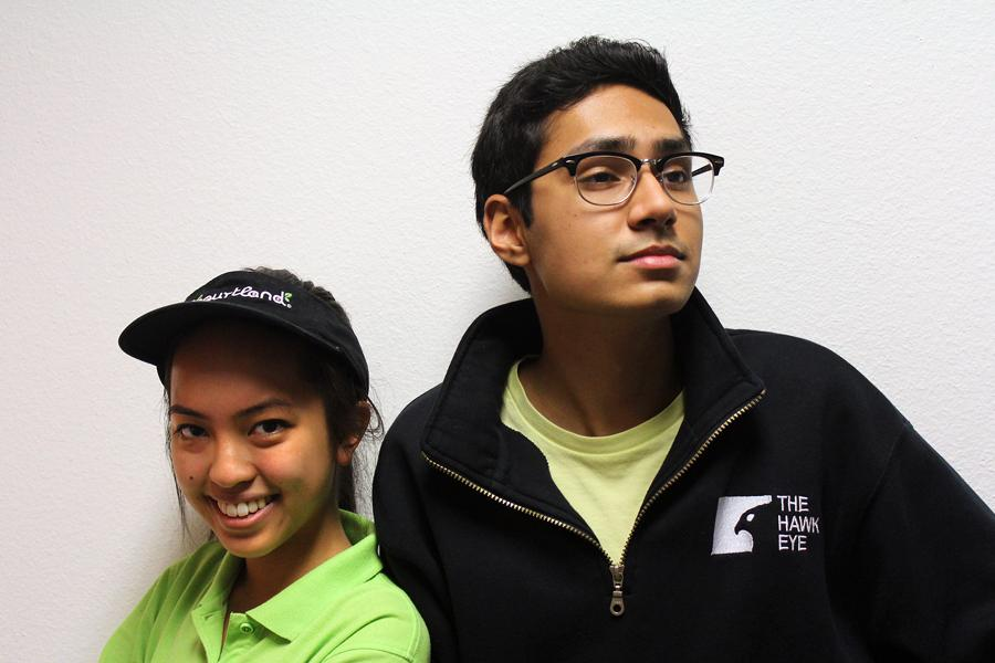 News+editor+Christina+Nguyen+and+editor-in-chief+Farhan+Ahmad+face+off+to+debate+about+working+students.