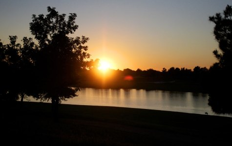 Sunset of October 27, 2015