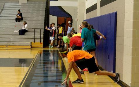 Photo gallery: senior dodgeball game