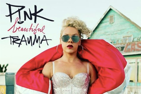 "P!nk brings back intriguing vocals with ""Beautiful Trauma"""
