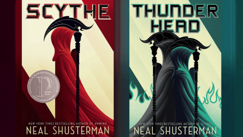"Shusterman brings thunder with sequel to ""Scythe"""