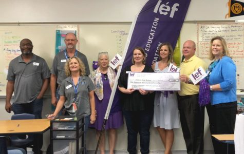 English 4 teacher awarded LEF grant
