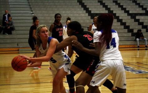 Varsity girls basketball to play against The Sanger