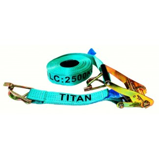 Tie Down - Ratchet Titan Green 2.5T x 12.5m