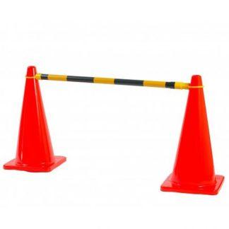 Extendable Cone Barrier Bar