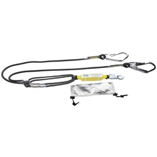 Zero Hot Works Double Lanyard with Scaff Hooks