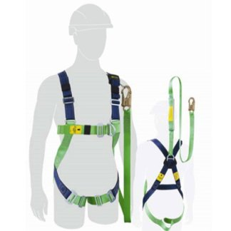 Miller Harness with Integrated Lanyard