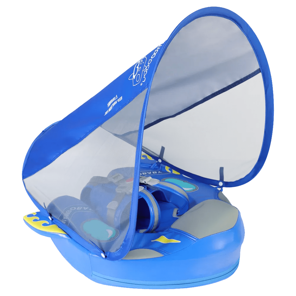 mambobaby float spaceship blue