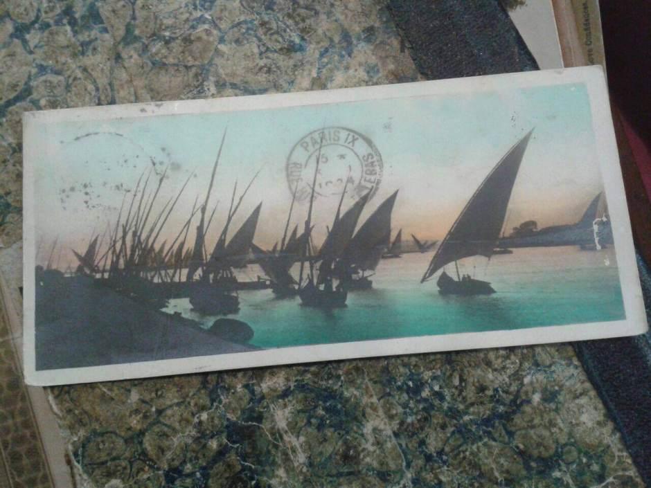 sevmek korkusu retro kartpostal paris
