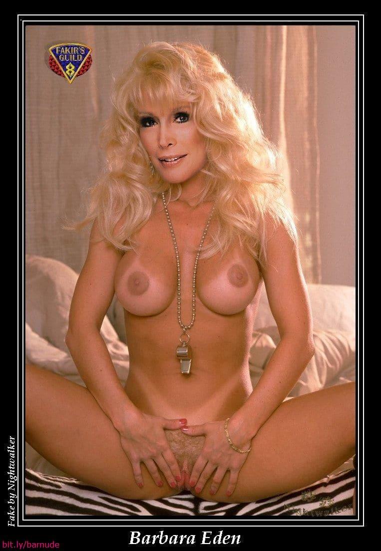 Barbra eden nude
