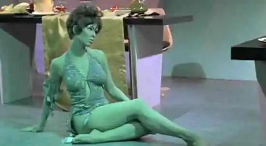 Las chicas de la serie original de Star Trek  (4/6)