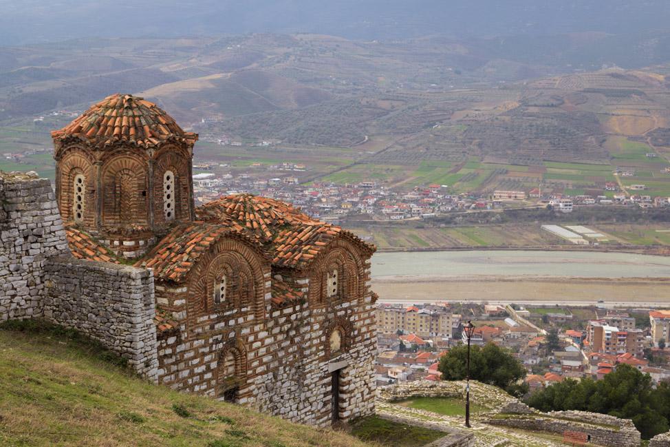 Churches in Berat Fortress