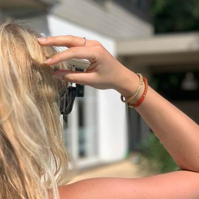 bracelet pour femme sirli porté
