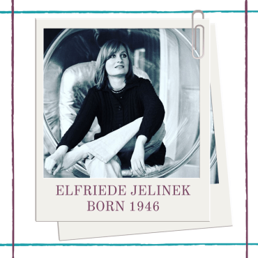 Hedda House's Bio of woman playwright from Germany Elfriede Jelinek