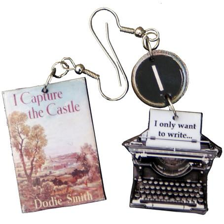 Hedda House Gift Guide // Dodie Smith I Capture the Castle earrings.