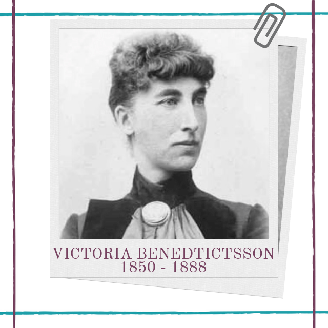 Biography of nineteenth century, Swedish female playwright Victoria Benedictsson by Hedda House.