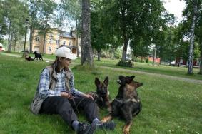 Aragorn och kompisen Gizmo