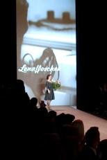 Lena Hoschek auf der Fashion Week in Berlin 2014( Foto Eva Maria Guggenberger)
