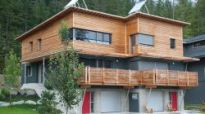 Rainbow Passivhaus in Whistler