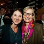 Schauspielerin Petra Niehoff und Journalistin Hedi Grager (Foto Werner Krug)