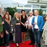 Unter den steirischen Gästen: Sabine Flieser-Just, Barbara Krenn und die Familie Teddy Jöbstl (Foto Werner Krug)