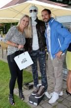 """Auch Manuela und Markus Jocher von JOMA Fashion unterstützen """"Golfen mit Herz"""" (Foto GEPA)"""