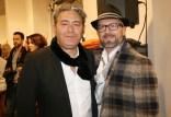 Modeexperte Gianni Spampinato und Musiker Johannes Lafer (Foto Christina Dow)