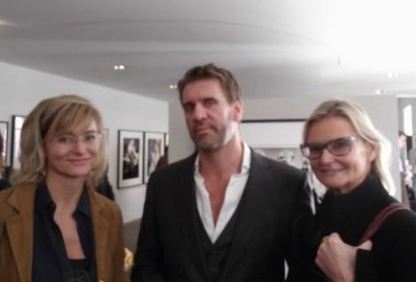 Anne Marie Legenstein-Schullin und Hedi Grager mit Vincent Petersb (Foto Reinhard Sudy)