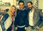 Manuela und Markus Jocher mit Mister Austria 2013 Philipp Knefz