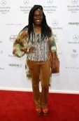 "Ivy Quainoo bei Rebekka Ruétz - ""A TOUCH OF FRIDA"" (Fotos Getty Images)"