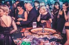 10 Jahre Lena Hoschek - Roulettetisch und Glücksrad von Casino Wien (Foto wwwgoodlifecrewat)