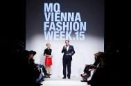 Designerin Marina Hoermanseder auf der MQ Vienna Fashion Week 2015 (Foto Thomas Lerch)
