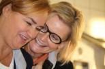 Renate Polz und Hedi Grager