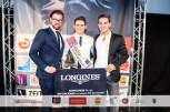 Alexander Bures von Longines, Sieger Fabian Kitzweger, Veranstalter & Mister Austria 2014 Philipp Knefz (Foto MAC/Pall