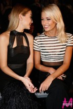 Topmodels Gigi Hadid und Lena Gerke: MAYBELLINE NEW YORK Mercedes Benz Fashion Week Berlin (Foto MAYBELLINE NEW YORK)