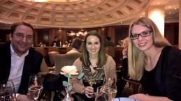 Botschafter Dr. Nikolaus Marschik, Lisa Wieser, Assistentin von Bundesminister Kurz, und Kristina Rausch, Büro Bundesminister Kurz (Foto Hedi Grager)